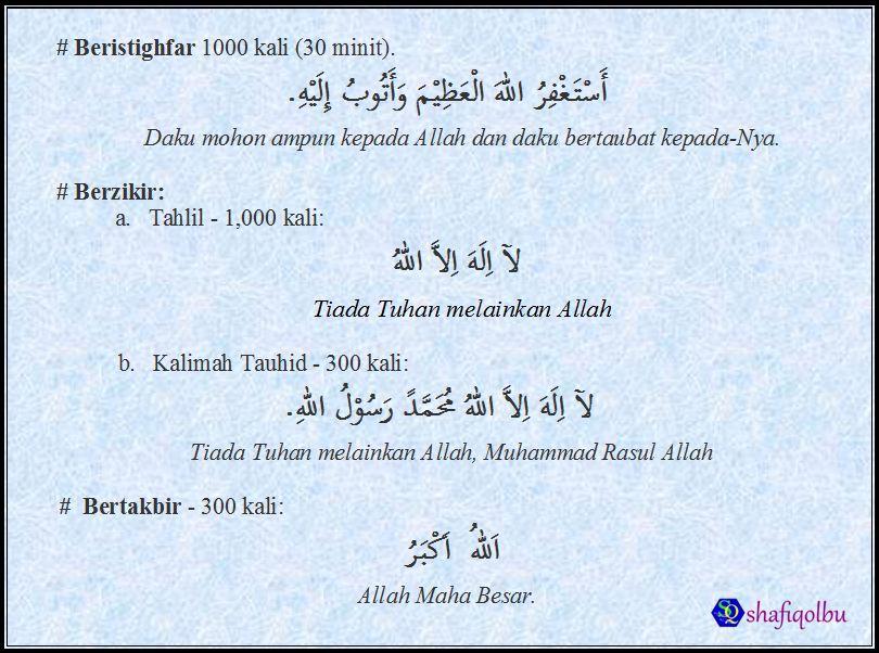 10 malam terakhir Lailatul Qadar