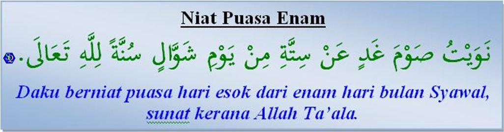 Puasa Enam Bulan Syawal Shafiqolbu