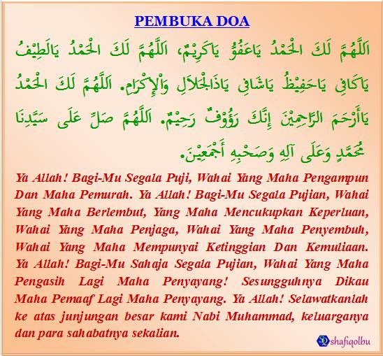 Pembuka Doa