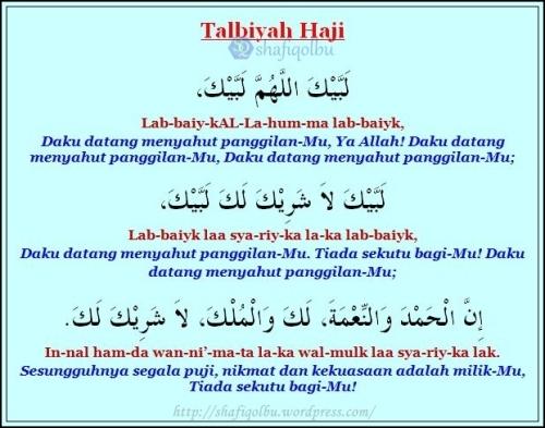 Talbiyah Haji dan Makna Terjemahan Rumi