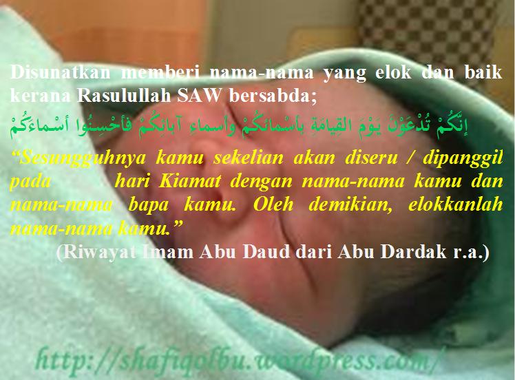 Nama Nama Yang Dilarang Islam Shafiqolbu