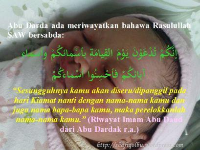 Nama Anak Yang Baik Dalam Islam Shafiqolbu