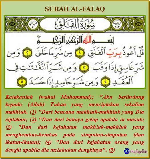 Keistimewaan Dan Tafsir Surah Al Falaq Shafiqolbu