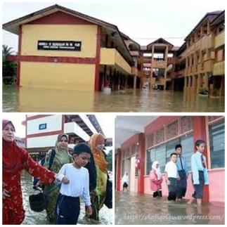 sekolah banjir SQ