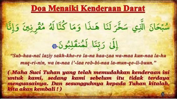 Image result for doa naik kenderaan