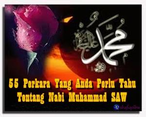 Trivia Nabi Muhammad SAW
