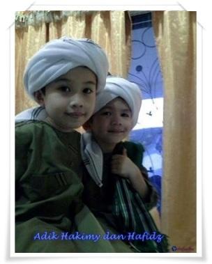 Adik Hakimy dan Hafidz