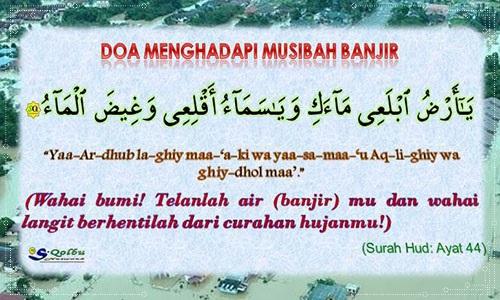 Doa Mengelak Dan Menghadapi Musibah Banjir 1