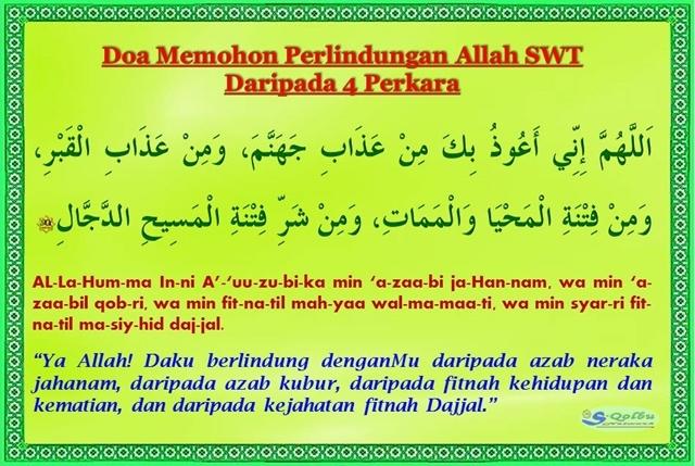 Doa Selepas Tahiyyat Akhir Tasyahud Akhir Sebelum Salam Shafiqolbu