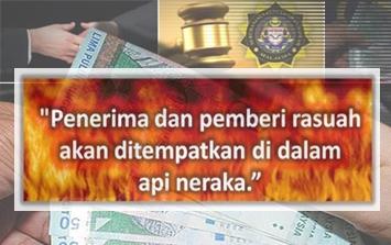 hindari dosa n rasuah