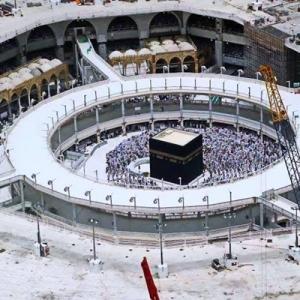 Roboh Mataf di Masjid Al haram a