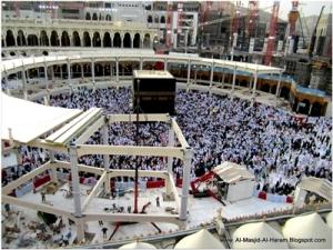 Roboh Mataf di Masjid Al haram b